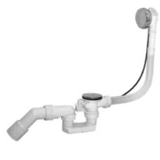 Sifon za kadu - gibljivi - sa automatskim ispustom - PVC - GP