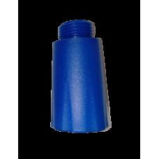 """Čep za ispitivanje instalacija 1/2"""" - plavi PVC"""