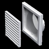 Rešetka ventilacijska ø 100 mm - fiksna