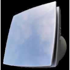 Ventilator ø 100 mm - dekorativni dizajn - metalizirani