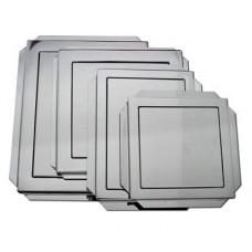 Vrata za kadu 150 x 150 mm - inox